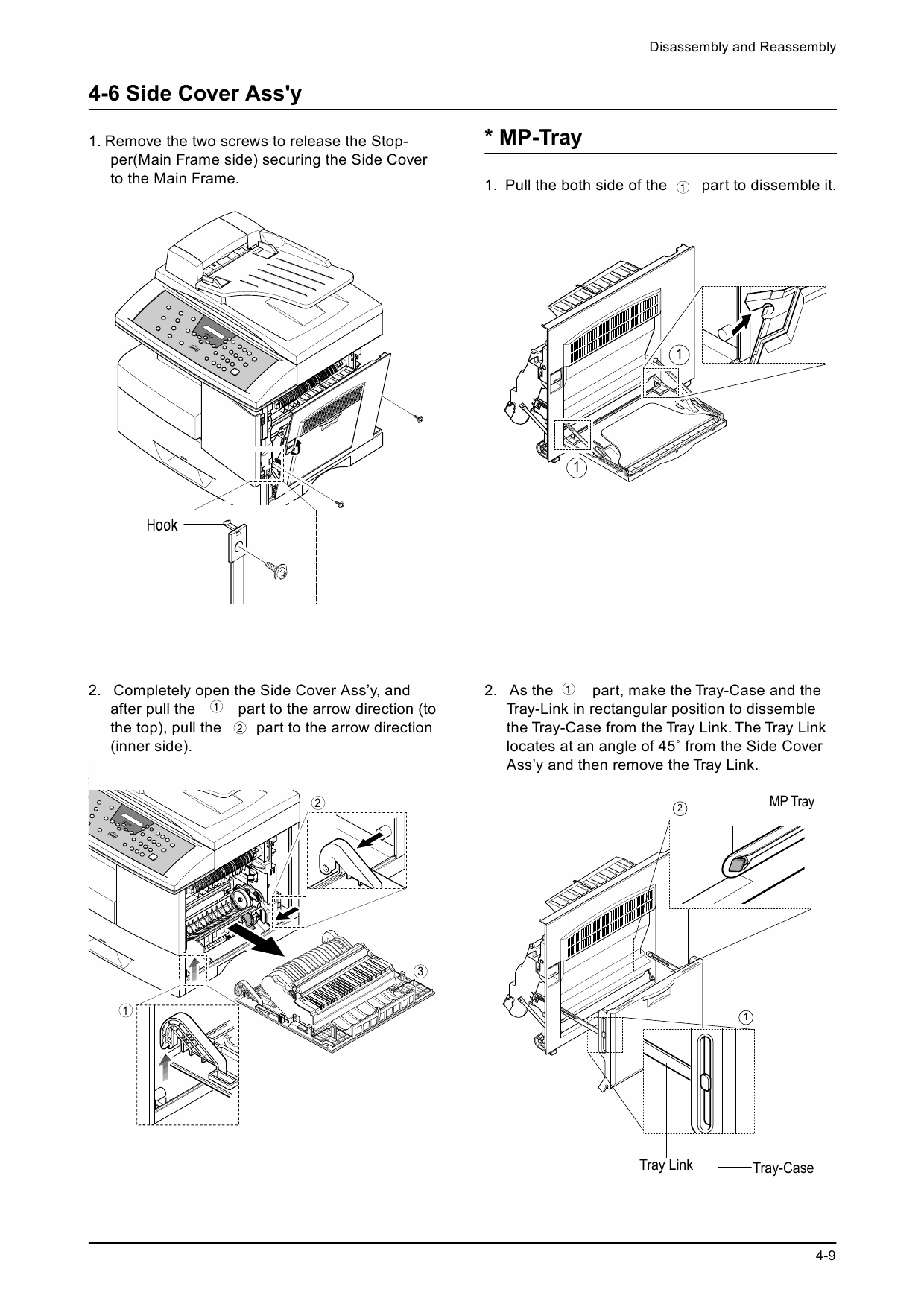 Xerox WorkCentre M15i FFACSIMILE Parts List and Service Manual-4